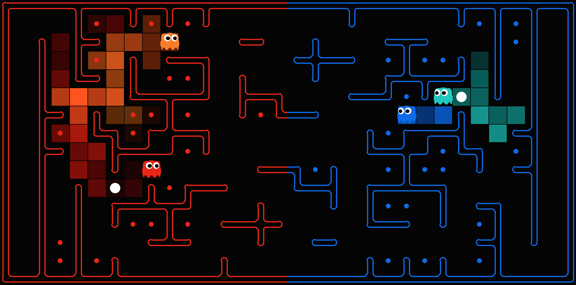 Pacman AI Projects